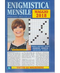 Enigmistica  Mensile - n. 69 - periodico mensile - maggio 2018