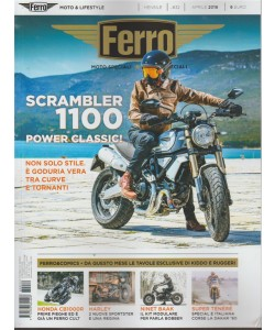 Ferro - Scrambler 1100 Power n. 32 - mensile aprile 2018