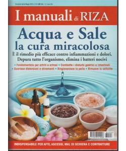 I Manuali Di Riza - Acqua E Sale n. 8 bimestrale aprile - maggio 2018
