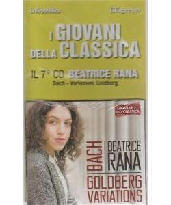 I Giovani Della Classica - Beatrice Rana . il 7° CD . Bach - Variazioni Goldberg