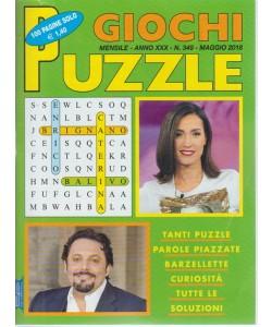 Giochi Puzzle -  n. 349 - mensile - maggio 2018