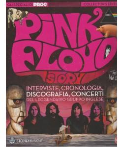 Classic Rock Monografie - Pink Floyd story. n. 6 - bimestrale- maggio - giugno 2018