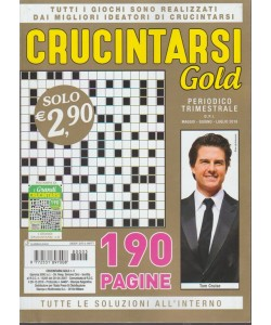 Crucintarsi Gold. Periodico trimestrale - maggio - giugno - luglio - 2018 - n. 5