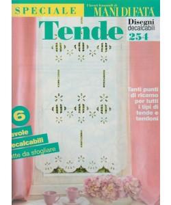 Speciale Tende: Disegni decalcabili n. 254 by I lavori femminili di Mani di fata