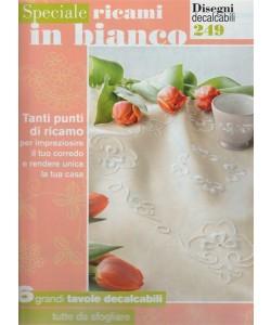 Speciale Ricami in bianco: Disegni decalcabili n. 249  by Mani di fata