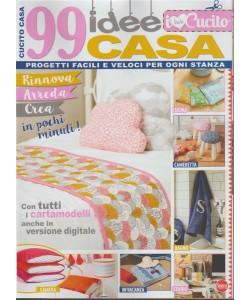 I Love Cucito: 99 idee casa - bimestrale n. 1 Maggio 2018