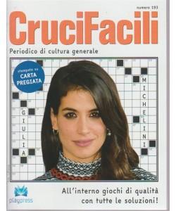 Crucifacili n. 193 - Periodico di cultura generale - bimestrale - 30/4/2018