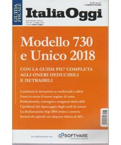 Guida Italia Oggi - Modello 730 E Unico 2018 - n. 6 - 4 maggio 2018