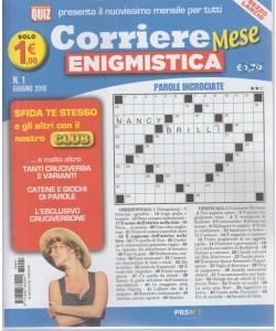 Corriere mese enigmistica n. 1 - giugno 2018