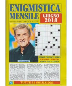 Enigmistica  Mensile - n. 70 - periodico mensile - giugno 2018