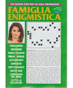 Famiglia Enigmistica - n. 189 - bimestrale - giugno - luglio 2018