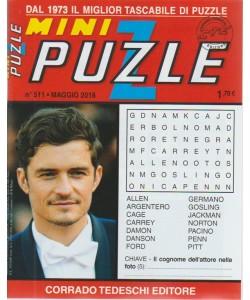 Minipuzzle - n. 511 - maggio 2018 - mensile