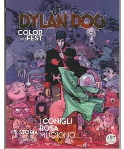Dylan Dog Color Fest - Trimestrale n. 25 Maggio 2018 I Conigli Rosa Muoiono