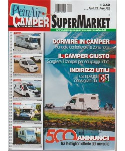Camper E Caravan Supermarket n. 3 - maggio 2018 - mensile