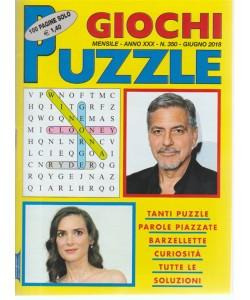 Giochi Puzzle - n. 350 - mensile - giugno 2018