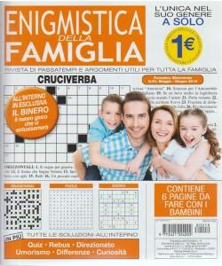 Enigmistica Della Famiglia -  n. 19 - periodico bimestrale - maggio - giugno 2018