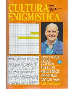 Cultura Enigmistica - n. 300 - periodico mensile - giugno 2018