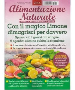 RIZA Alimentazione Naturale-mensile n.29 Febbraio 2018- Dimagrisci con il Limone