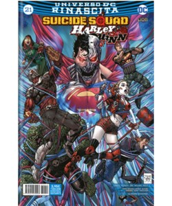 SUICIDE SQUAD/HARLEY QUINN 21 (43) - Universo DC Rinascita - DC Lion