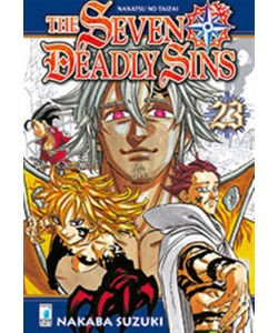 Manga: THE SEVEN DEADLY SINS - NANATSU NO TAIZAI # 23- Star Comics coll.Stardust