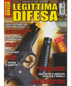 Armi Magazine Speiale: Legittima Difesa - Febbraio 2018
