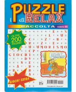 Raccolta i puzzle di relax n. 90 - trimestrale - maggio - luglio 2018