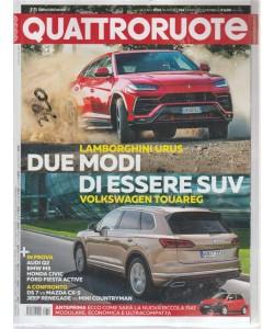 Quattroruote - n. 754 - giugno 2018 - periodico mensile