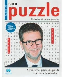 Raccolta solo puzzle n. 51 - bimestrale - 28/5/2018 - periodico di cultura generale