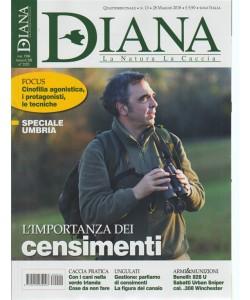 Diana - La Natura  La Caccia - n. 10 - quattordicinale - 28 maggio 2018 -