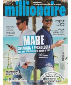 Millionaire - n. 6 - giugno 2018 - mensile
