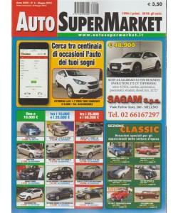 Auto supermarket n. 6 - giugno 2018 -  mensile - 148 pagine