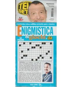 Telesette - settimanale n. 23 - 29/5/2018 -+ Enigmistica & giochi vol. 40