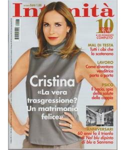 Intimità - settimanale n. 6 14 Febbraio 2018  - Cristina Parodi