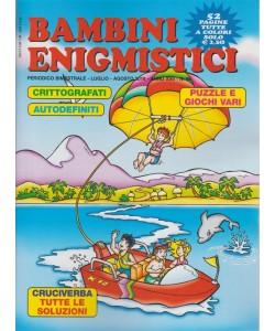 Bambini Enigmistici n. 98 - periodico bimestrale - luglio - agosto 2018 - 52 pagine
