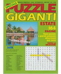 Speciale Puzzle Giganti - n. 92 - periodico trimestrale - luglio - settembre 2018 - 164 pagine