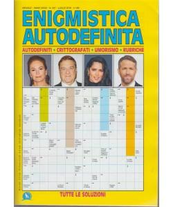 Enigmistica Autodefinita - n. 341 - mensile - luglio 2018