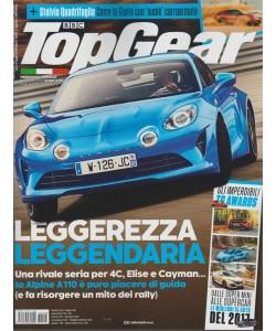 Top Gear - mensile n. 123 Febbraio 2018 - Stelvio Quadrifoglio