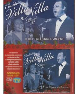 Doppio CD - Claudio Villa & Nilla Pizzi - il Re e la regina di Sanremo