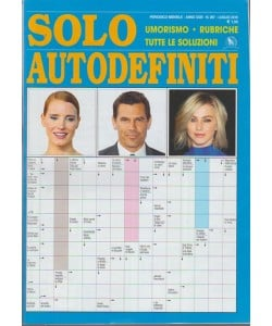 Solo Autodefiniti - MENSILE N. 267 lUGLIO 2018