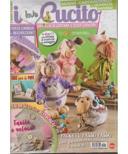 I Love Cucito - bimestrale n. 21 Febbraio 2018 + mamma creativa