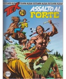 Tex Nuova Ristampa - Assalto Al Forte - n. 434 - mensile - giugno 2018