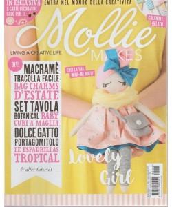 Mollie Makes - n. 6 - bimestrale - luglio - agosto 2018 -