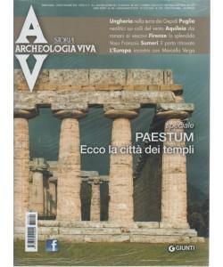 Archeologia Viva - n. 190 - bimestrale - luglio/agosto 2018 -