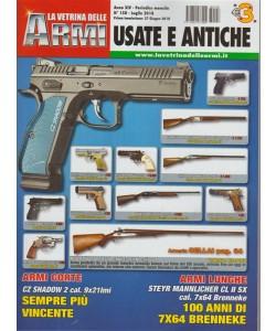 La Vetrina delle armi usate e antiche - n. 158 - periodico mensile - luglio 2018 -