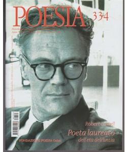 Poesia - mensile internazionale di cultura poetica n. 334 Febbraio 2018