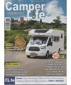 Camperlife - Turismo/Eventi E Weekend - n. 67 - mensile - luglio 2018 - + Turismo Clife  n. 67 - luglio 2018  - 2 riviste