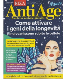 Riza Antiage - n. 3 - luglio 2018 - mensile