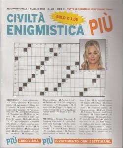 Civilta' Enigmistica più - quattordicinale - 4 luglio 2018 - n. 118 -