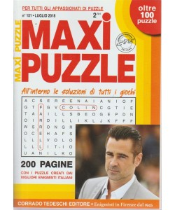 Maxi Puzzle - n. 151 - luglio 2018 - mensile - 200 pagine