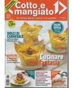 Cotto e Mangiato - mensile n.2 Febbraio 2018- Salva spesa...menu per 4 a 12 euro